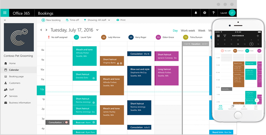Microsoft-Bookings-Calendar