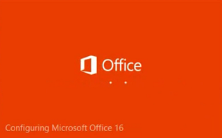 Office 2016 installation