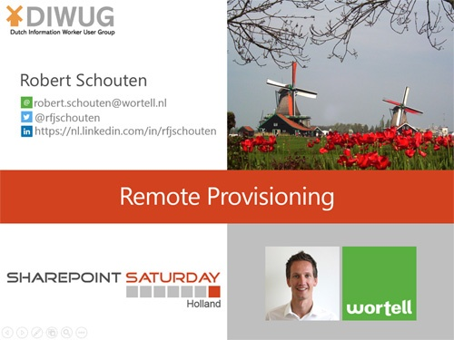 SPSNL_Remote_Provisioning_Wortell