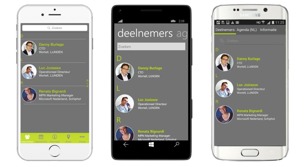 WPC app screenshots