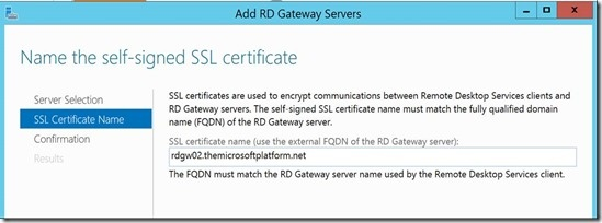 New default RD Gateway Resource Authorization Policies in