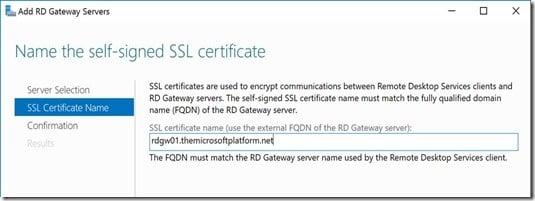 RDS 2016 Server Manager