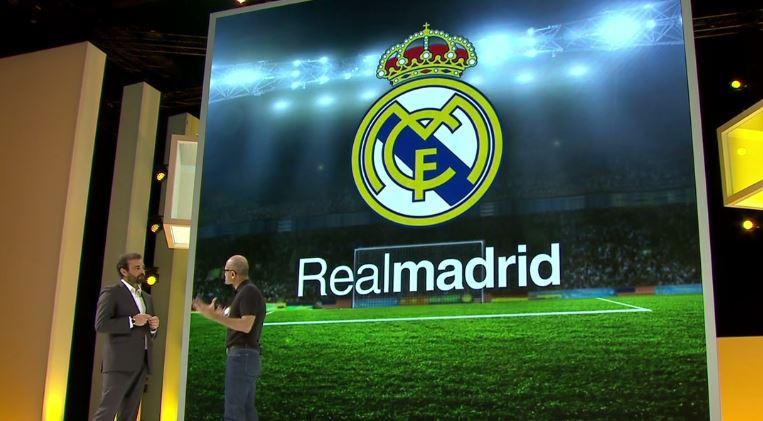 Real Madrid en Microsoft