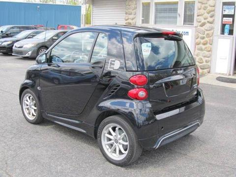 Used smart Fortwo Electric Drive Coupe pure, 2016