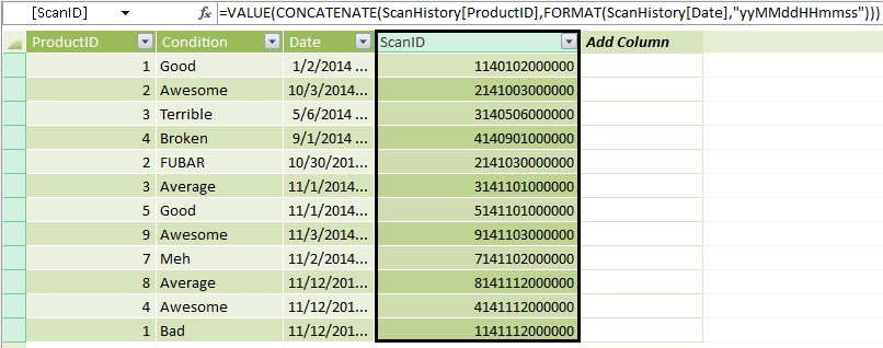 Row Context, Nested Functions, and EARLIER() in PowerPivot