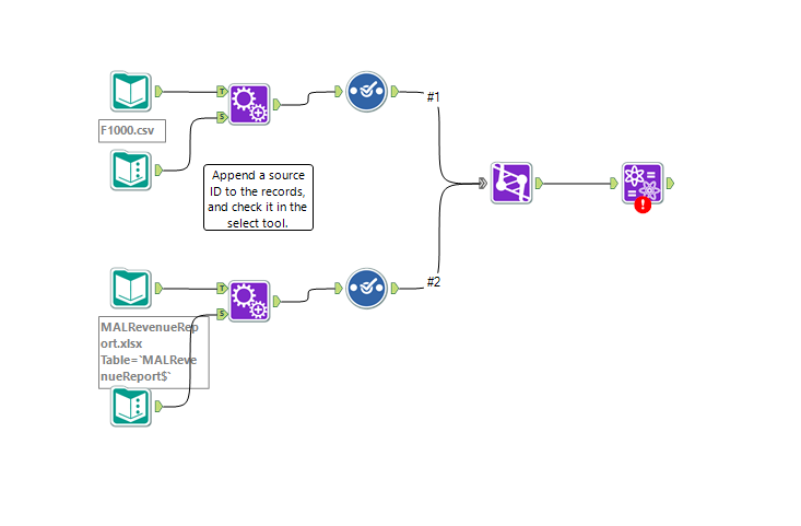 Alteryx Fuzzy Join Workflow