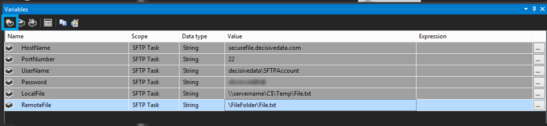 Automated Secure File Transfer Protocol (SFTP) using SQL