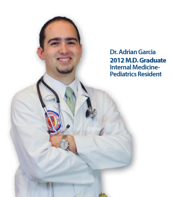Trinity School of Medicine Alumni Spotlight: Dr. Adrian Garcia, Trinity Class of 2012
