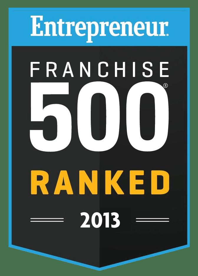 #176 - 2013 Entrepreneuer Magazine Franchsie 500