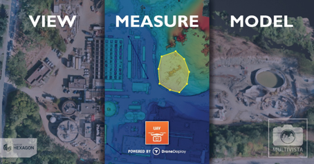 Multivista, part of Hexagon, announced today a partnership with DroneDeploy, the leading cloud software platform for commercial drones.