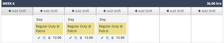 Day Shift Rotation 1 shown in PlanIt scheduling software.