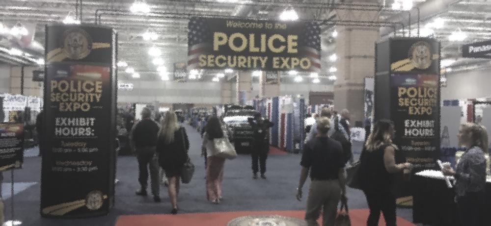 Police Expo Floor