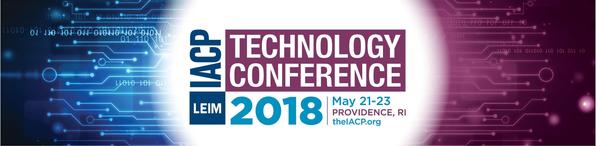 IACP Tech Conference 2018