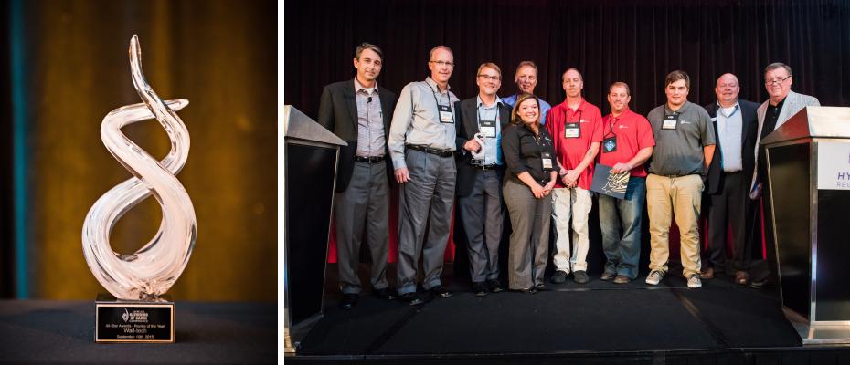 Wall-tech Award Gathering of Games