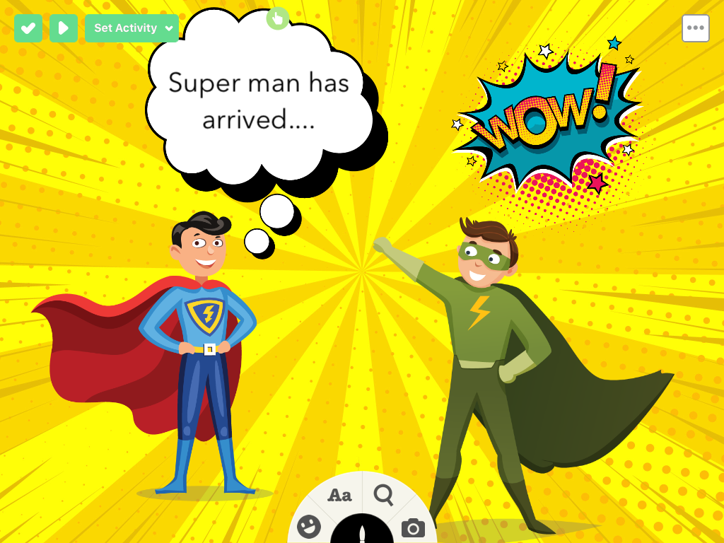 Play the Ji Tap Supermen series: Jewish Super Heroes