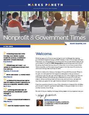 Nonprofit & Government Times Q4