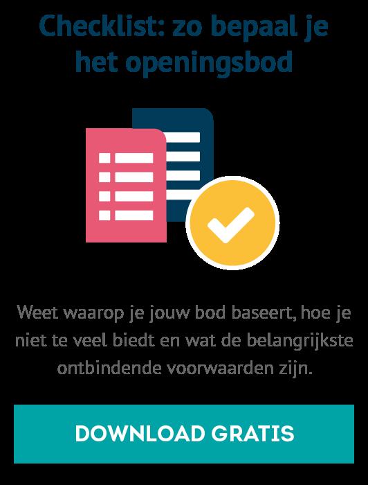 schriftelijk bod voorbeeldbrief Bieden op een huis: voorbeeldbrief | Knab.nl schriftelijk bod voorbeeldbrief