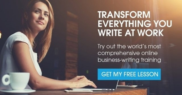 get your free business writing lesson