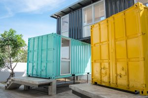 Shipping Container House 300