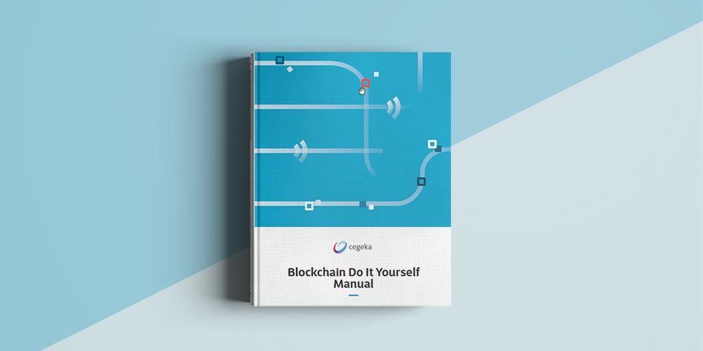 Cegeka lanceert Blockchain DIY Manual voor bedrijven