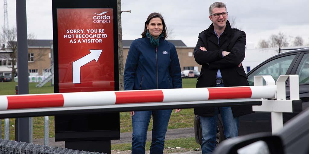 Cegeka and Corda Campus create Belgium's smartest car park