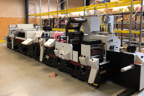 FlexoPrint Installs First True Hybrid in Denmark