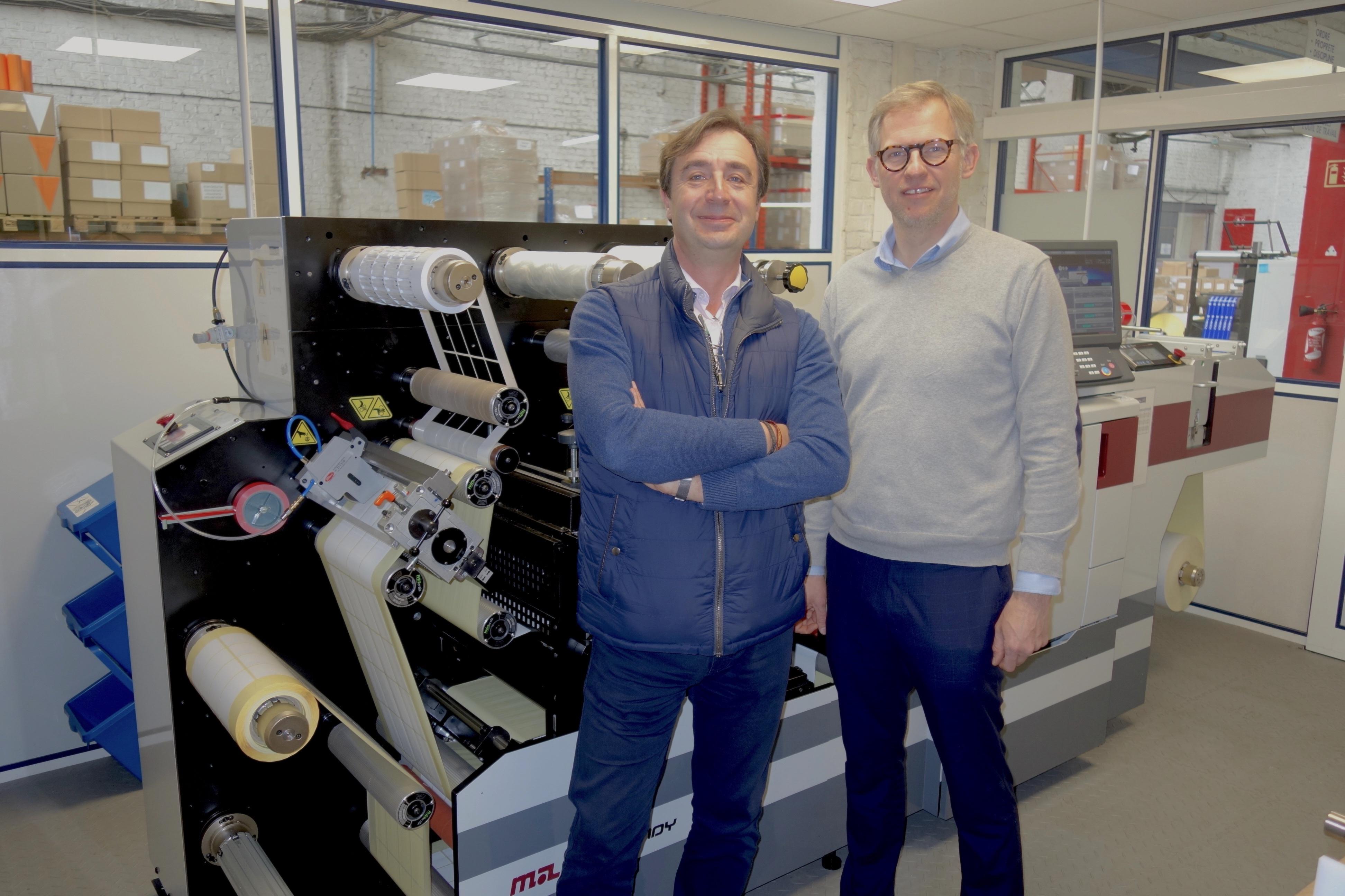 Nord Techniques Etiquetage Installs Digital Hybrid Press