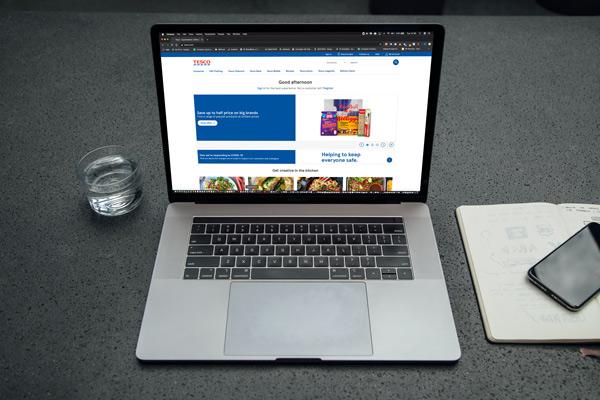 online-retail-laptop-shopping-online-at-Tesco