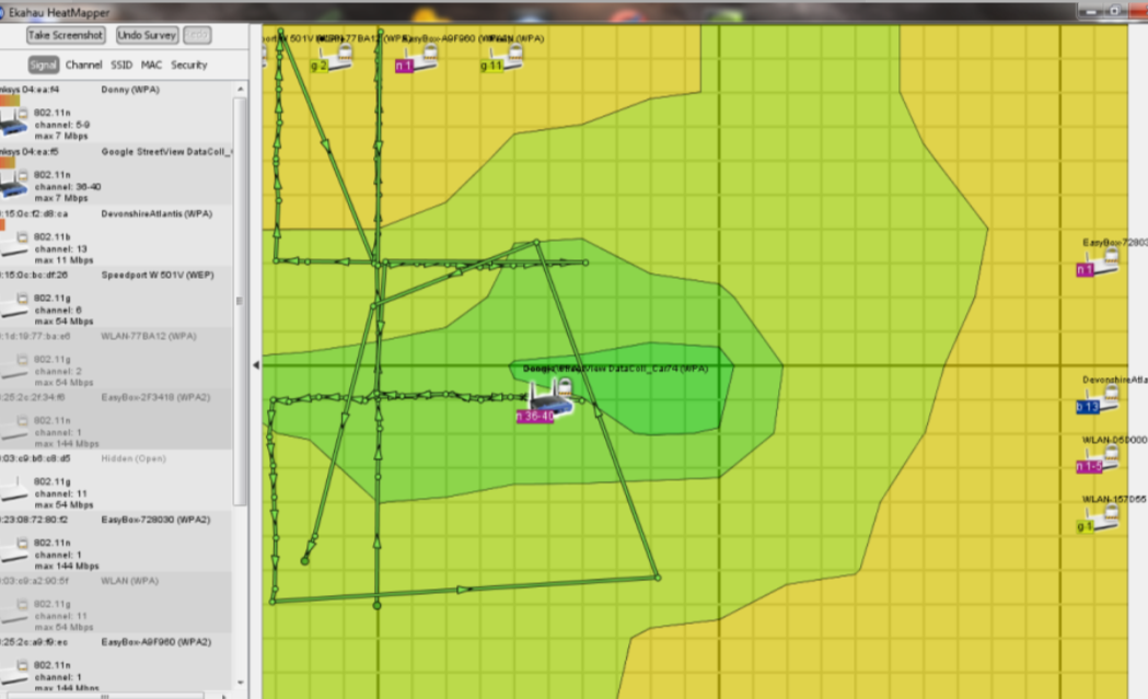 Mapa de sinal