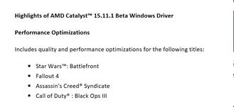 Texto do AMD Catalyst