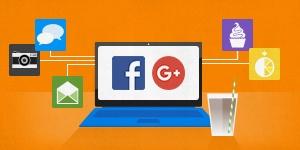 É seguro fazer login com o Facebook ou Google?