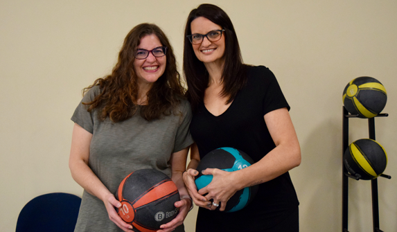 Photo of Karen and Donna after Inspire Weight Loss program.