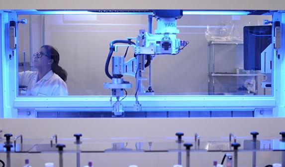 Image of Genetic Testing Technology with Ambry Genetics Laboratory