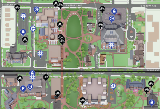 Prepare Your Interactive Campus Map for Family Weekend ... on