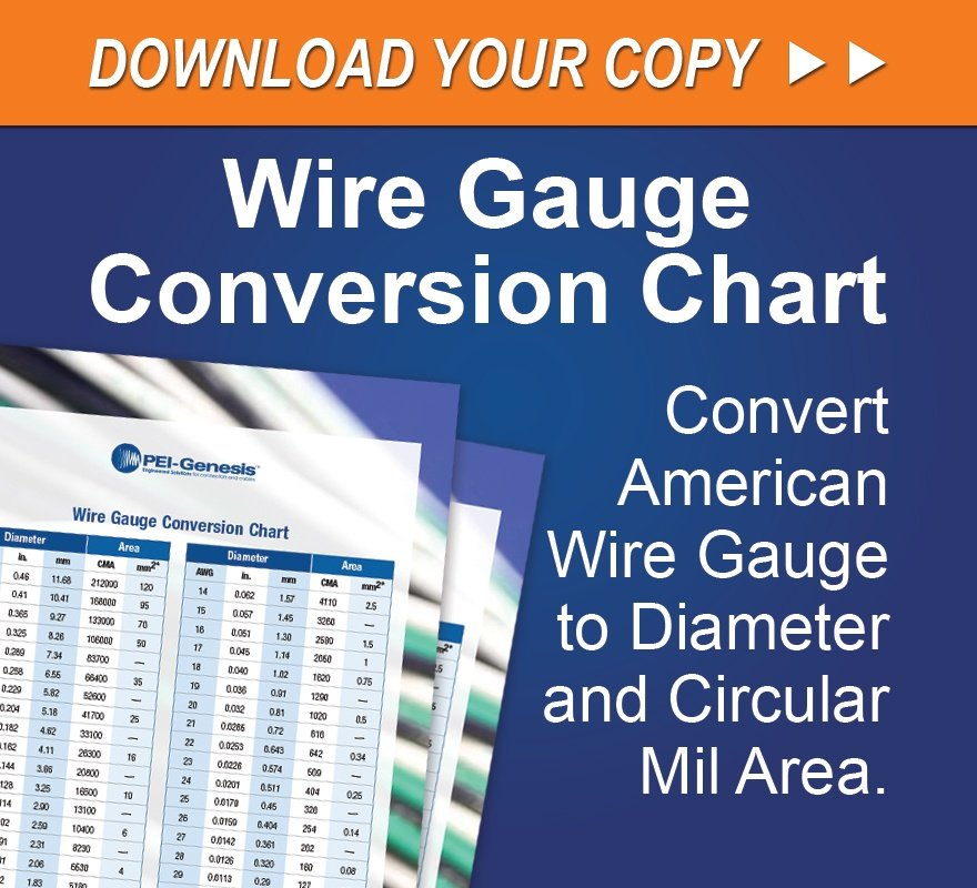 Pei connects pei genesis connector cable assembly blog download the wire gauge conversion chart keyboard keysfo Images
