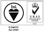 BSI and ISO certificate