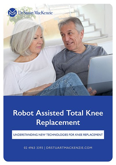 Robot Assisted Total Knee Replacement - Dr Stuart MacKenzie Information