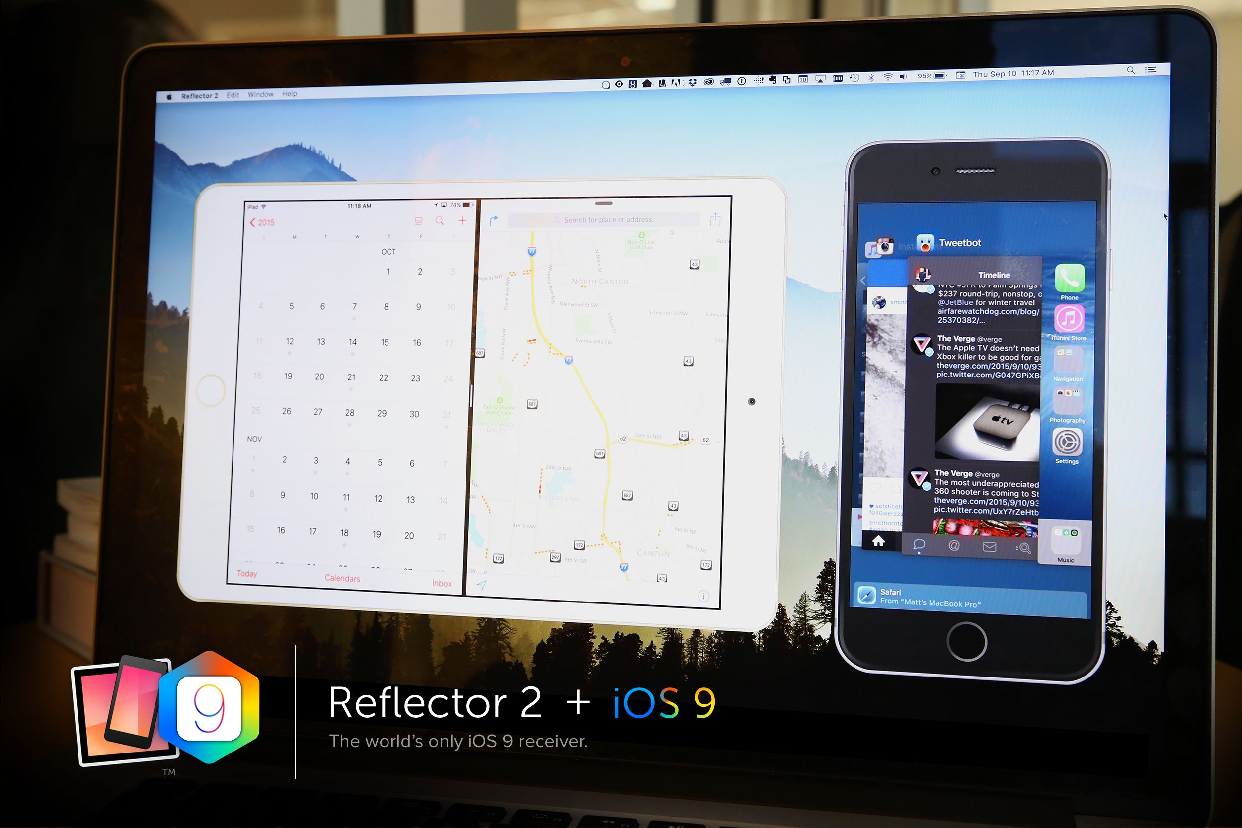 iOS 9 Screen-Mirroring Support Has Arrived