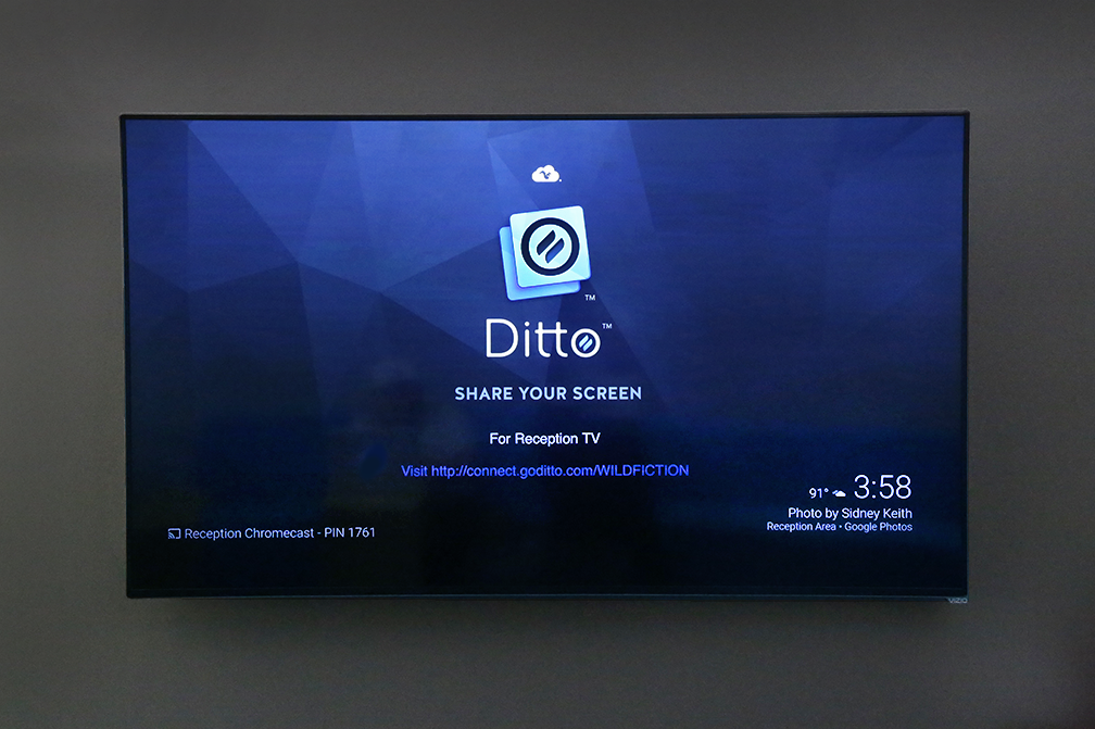 Display Ditto Connection Instructions As A Chromecast Background Ditto