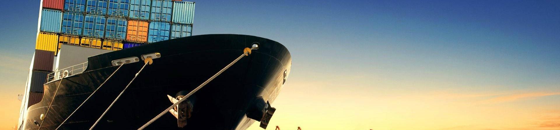 A smart ship in cargo.