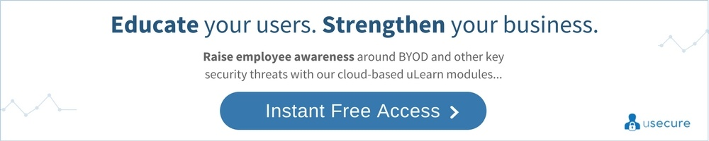BYOD security awareness training