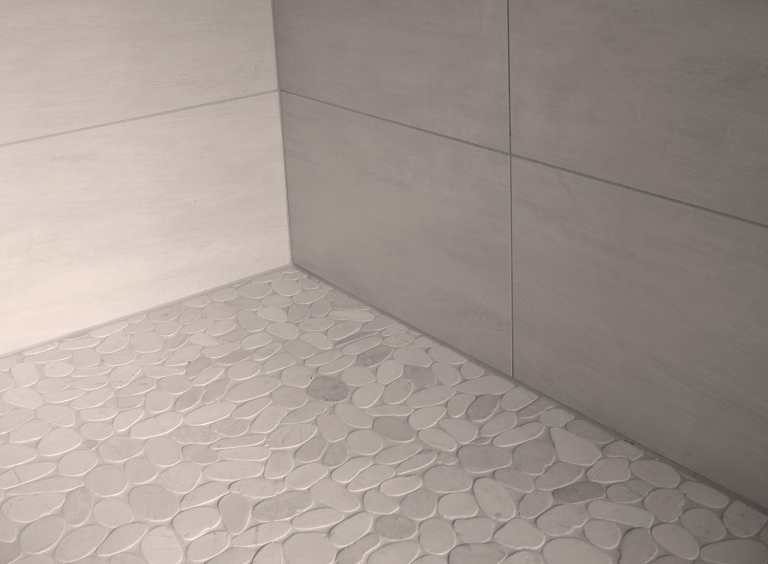 Pebble Shower Flooring Ahhh Or Ouch