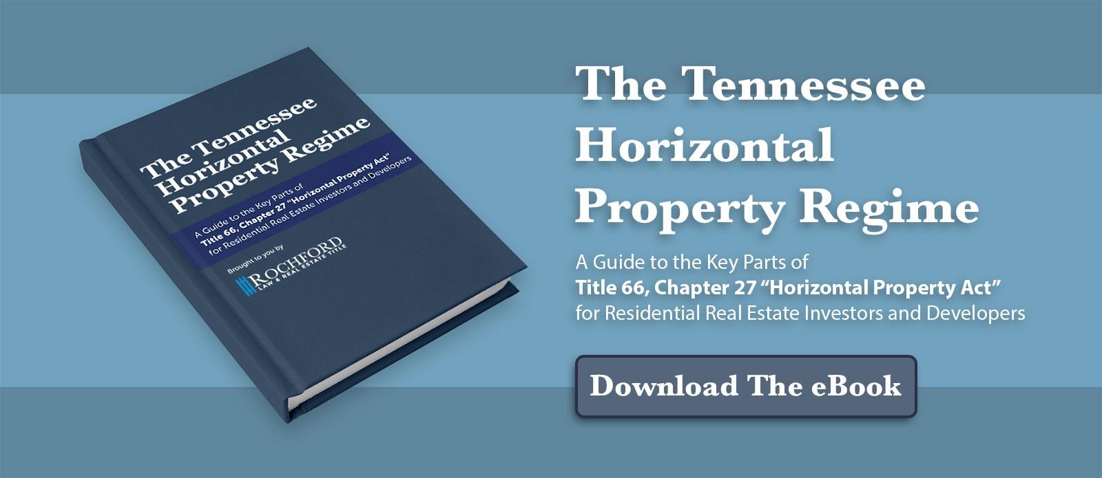 Horizontal Property Regime Ebook