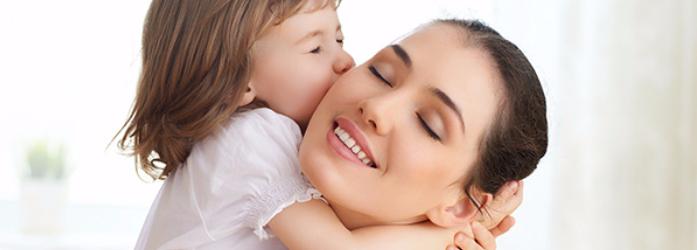 Ser mamá es disfrutar y ser feliz