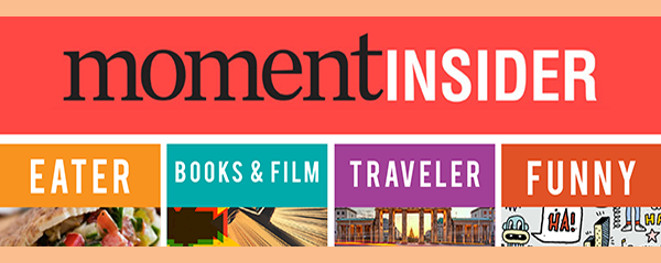 Sign up for Moment Newsletters