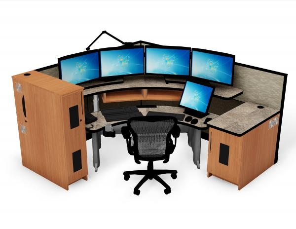 911 Dispatch Workstations | Consoles | Ergonomic Desks | Xybix