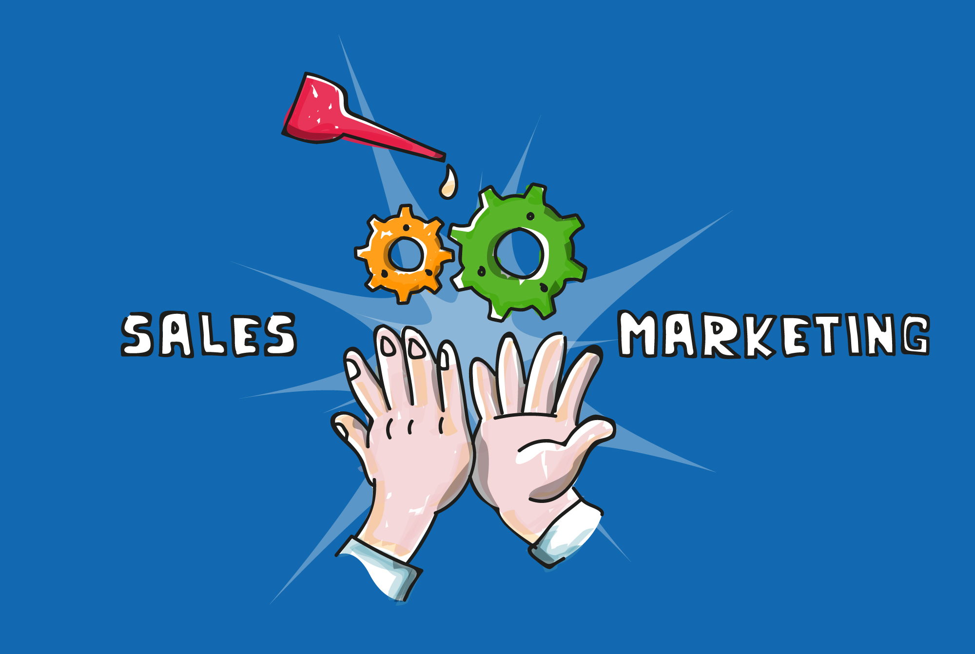 Zusammenarbeit von Sales und Marketing