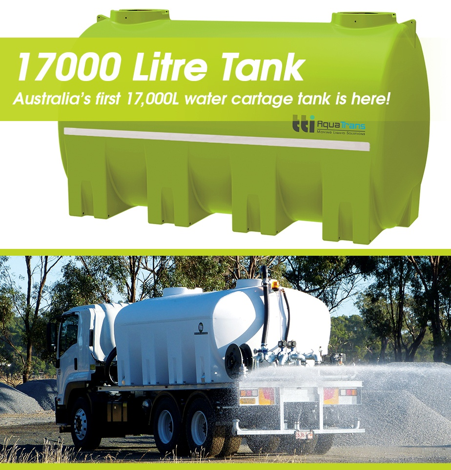 Australia's First 17,000 Litre Water Cartage Tank is Here! by TTi