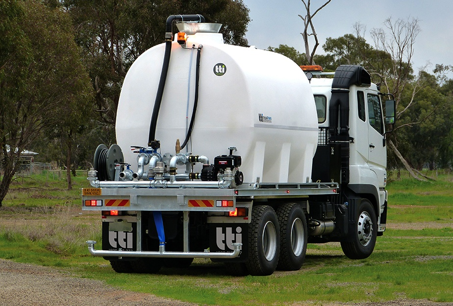 Australia's First 17,000 Litre Water Cartage Tank is Here! - by TTi