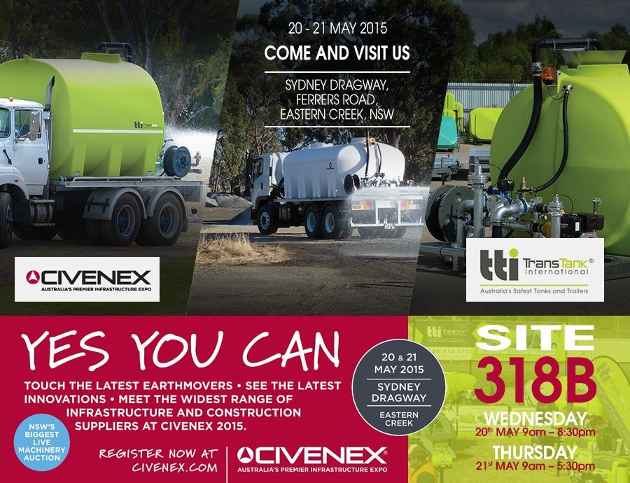 TTi Blog | Civanex 2015 Event in Australia - Industrial, Spraying, Fire Fighting Displays